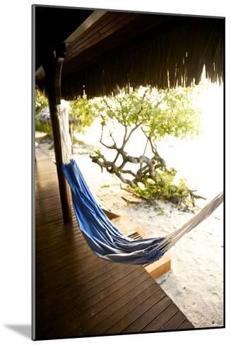 A Hammock Outside a Room At Medjumbe Island Resort in Mozambique-Jad Davenport-Mounted Photographic Print