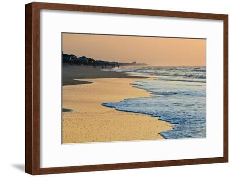 Topsail Beach in the Early Morning-Brian Gordon Green-Framed Art Print