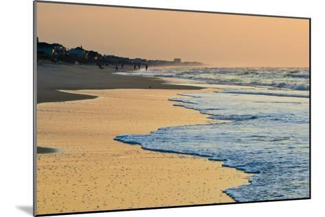 Topsail Beach in the Early Morning-Brian Gordon Green-Mounted Photographic Print