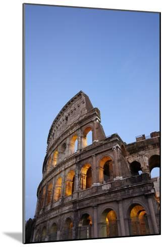 Outside Rome's Colosseum At Dusk-Dave Yoder-Mounted Photographic Print