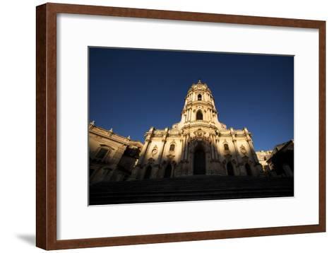 The Duomo Di San Giorgio in Modica-Dave Yoder-Framed Art Print