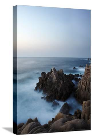 Granite Rock Formations Along Sardinia's Costa Paradiso-Dave Yoder-Stretched Canvas Print