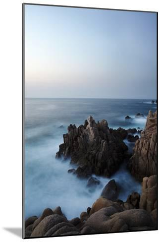 Granite Rock Formations Along Sardinia's Costa Paradiso-Dave Yoder-Mounted Photographic Print