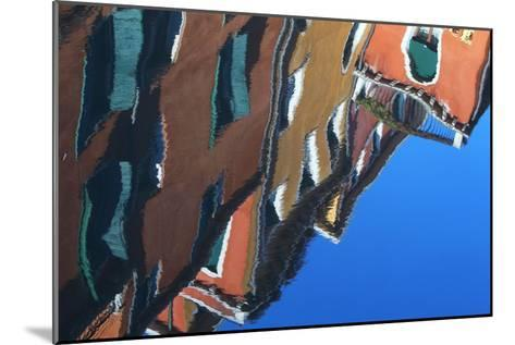 Buildings Reflecting On the Surface of the Canal Water-Joe Petersburger-Mounted Photographic Print