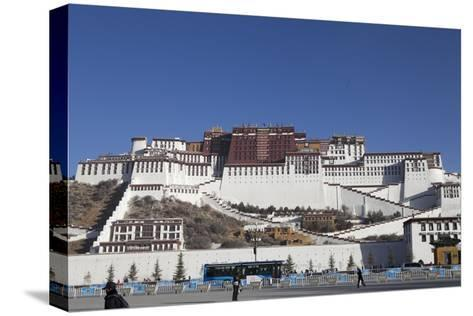 A View of the Potala Palace-Kent Kobersteen-Stretched Canvas Print