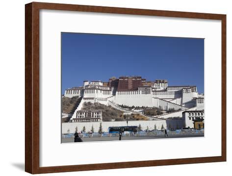 A View of the Potala Palace-Kent Kobersteen-Framed Art Print