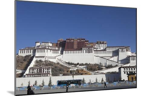 A View of the Potala Palace-Kent Kobersteen-Mounted Photographic Print