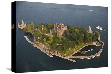 Boldt Castle On Heart Island in the Thousand Islands-Will Van Overbeek-Stretched Canvas Print