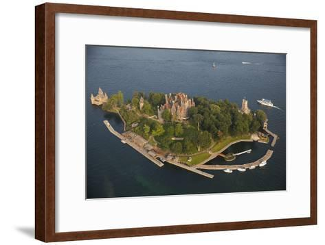 Boldt Castle On Heart Island in the Thousand Islands-Will Van Overbeek-Framed Art Print