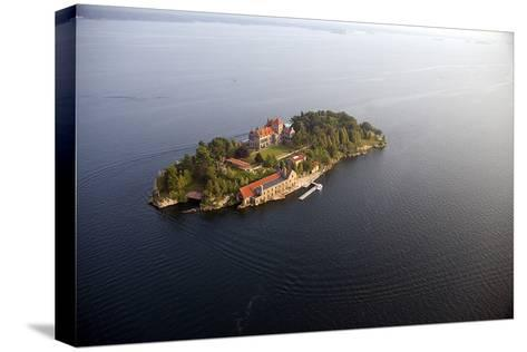 Singer Castle On Dark Island in Thousand Islands-Will Van Overbeek-Stretched Canvas Print