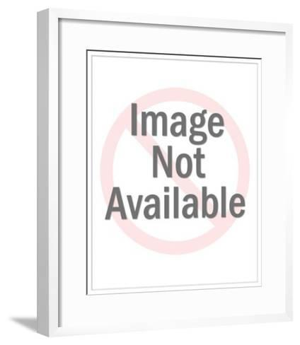 Man Operating Gift Machine-Pop Ink - CSA Images-Framed Art Print