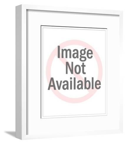 Flirting Female Cat-Pop Ink - CSA Images-Framed Art Print