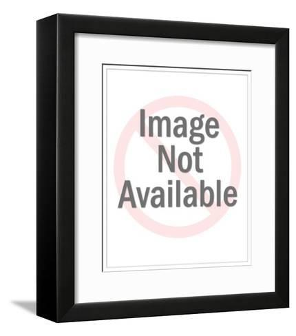 Yellow Convertible-Pop Ink - CSA Images-Framed Art Print