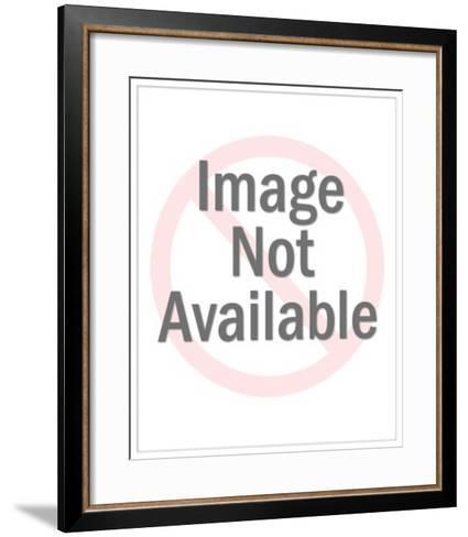 Boy Dragging a Harp-Pop Ink - CSA Images-Framed Art Print