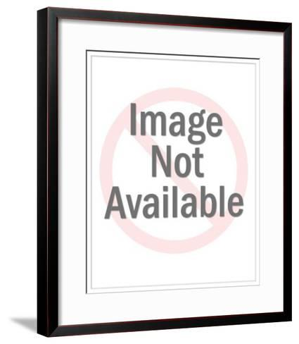 Penguin with CSA Images Sign-Pop Ink - CSA Images-Framed Art Print