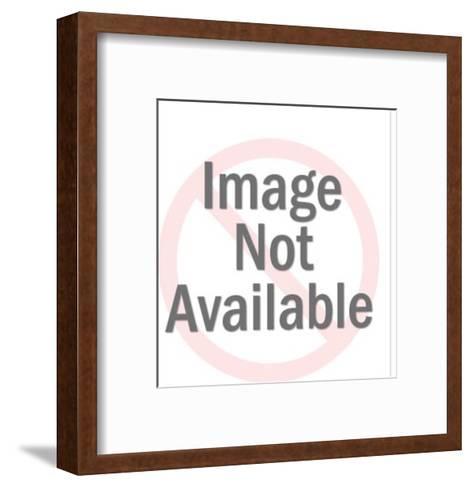 Two Businessmen Shaking Hands-Pop Ink - CSA Images-Framed Art Print