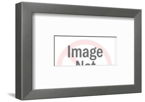 Family in Car with Dog-Pop Ink - CSA Images-Framed Art Print