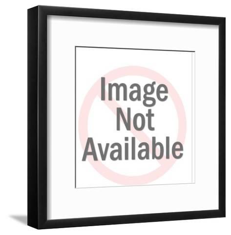 Worried Bald Man-Pop Ink - CSA Images-Framed Art Print