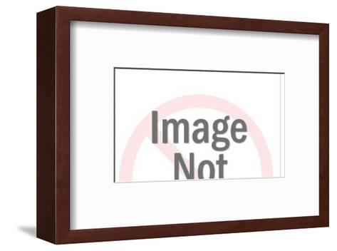 Upset Boy with Middle Part-Pop Ink - CSA Images-Framed Art Print