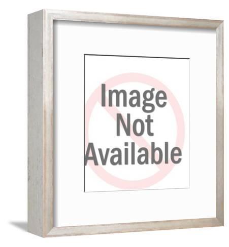 Man with Oversize Hammer-Pop Ink - CSA Images-Framed Art Print