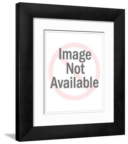 Man with Wallpaper Brush-Pop Ink - CSA Images-Framed Art Print