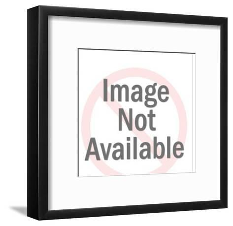 Driver Pointing Thumb-Pop Ink - CSA Images-Framed Art Print