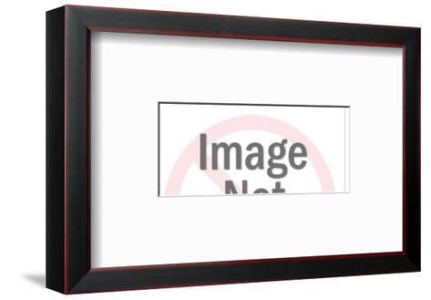 New York Skyline-Pop Ink - CSA Images-Framed Art Print