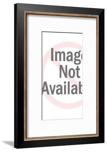 Angelic Woman with Curly Hair-Pop Ink - CSA Images-Framed Art Print