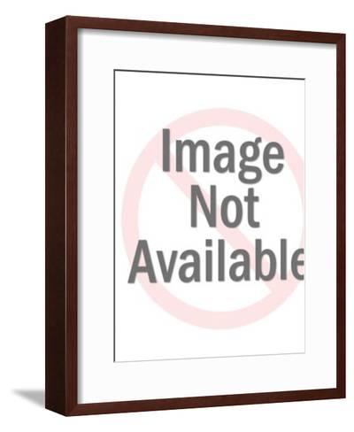 Happy Boy Playing Cowboy-Pop Ink - CSA Images-Framed Art Print