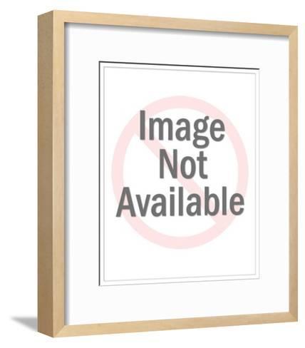 Man with Beverage in Mug-Pop Ink - CSA Images-Framed Art Print