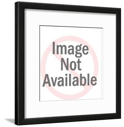 Businessman with Legs Up on Wall-Pop Ink - CSA Images-Framed Art Print
