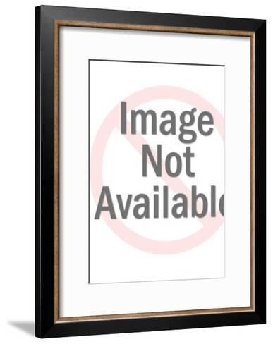 Woman Angry Because Man Came Home from Fishing Trip with One Tiny Fish-Pop Ink - CSA Images-Framed Art Print