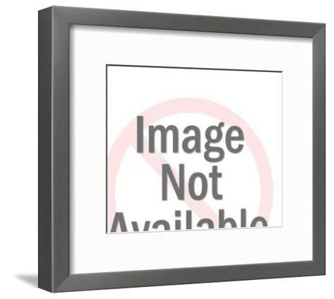 Printer at Work-Pop Ink - CSA Images-Framed Art Print