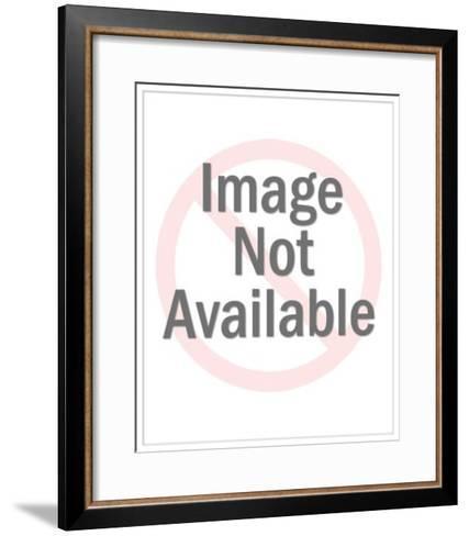 Running Businessman-Pop Ink - CSA Images-Framed Art Print