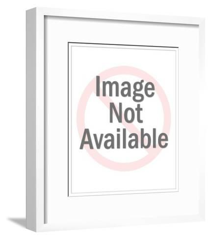 Bald Man with Full Beard-Pop Ink - CSA Images-Framed Art Print