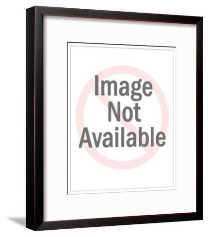 Businessman Flying in on an Idea-Pop Ink - CSA Images-Framed Art Print