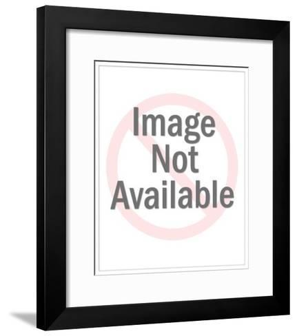 Valentine Cupid Baby Border-Pop Ink - CSA Images-Framed Art Print