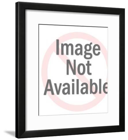 Woman with Headband-Pop Ink - CSA Images-Framed Art Print