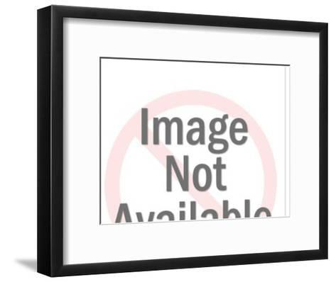 Angel Driving Convertible-Pop Ink - CSA Images-Framed Art Print