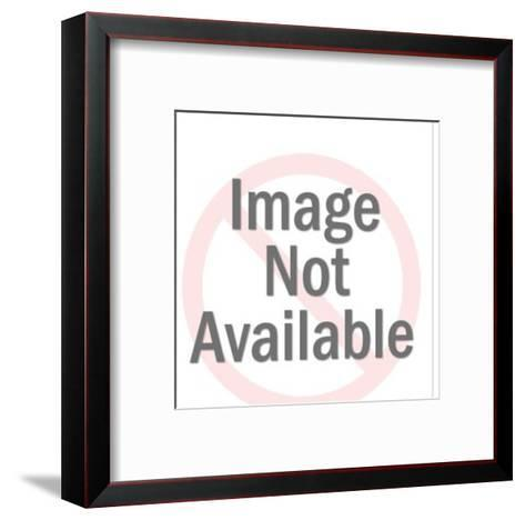 Man on Knees Proposing to Woman-Pop Ink - CSA Images-Framed Art Print