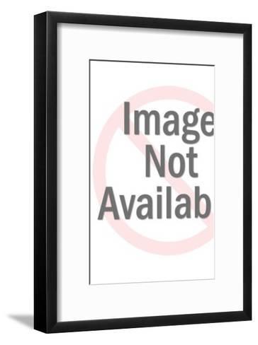 Man Holding Large Open Book-Pop Ink - CSA Images-Framed Art Print