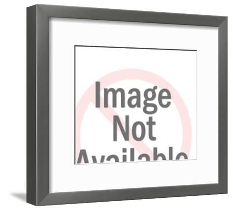 Eye in Eyeglasses-Pop Ink - CSA Images-Framed Art Print