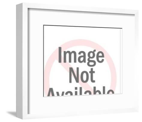 Woman Mailing Letter-Pop Ink - CSA Images-Framed Art Print