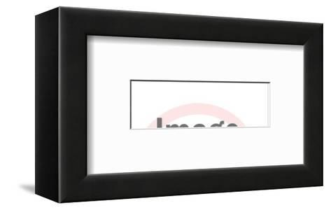 Anrgy Man and Woman-Pop Ink - CSA Images-Framed Art Print