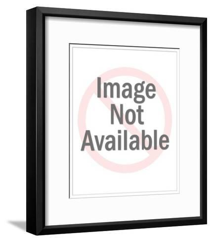 Man Standing on Pipe-Pop Ink - CSA Images-Framed Art Print