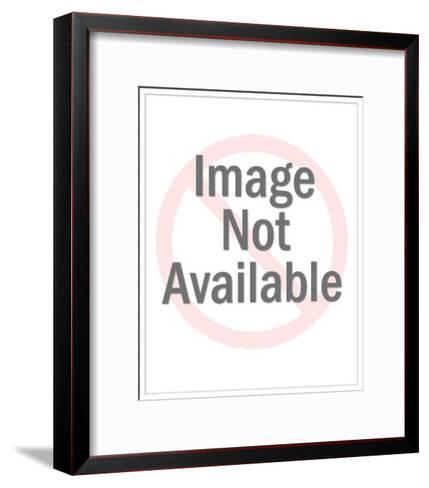 Couple Reading Together-Pop Ink - CSA Images-Framed Art Print