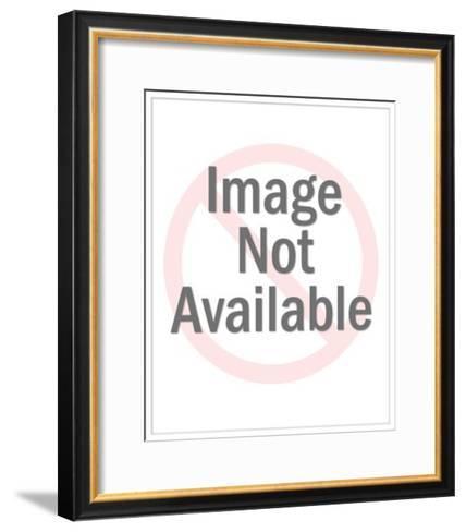 Crowd of Women Running-Pop Ink - CSA Images-Framed Art Print
