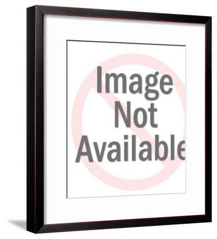 Man Running-Pop Ink - CSA Images-Framed Art Print