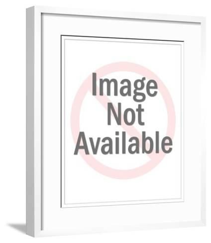 Man Driving Convertible Paying Valet-Pop Ink - CSA Images-Framed Art Print