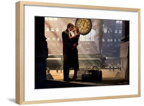 Au Revoir-Chris Consani-Framed Art Print